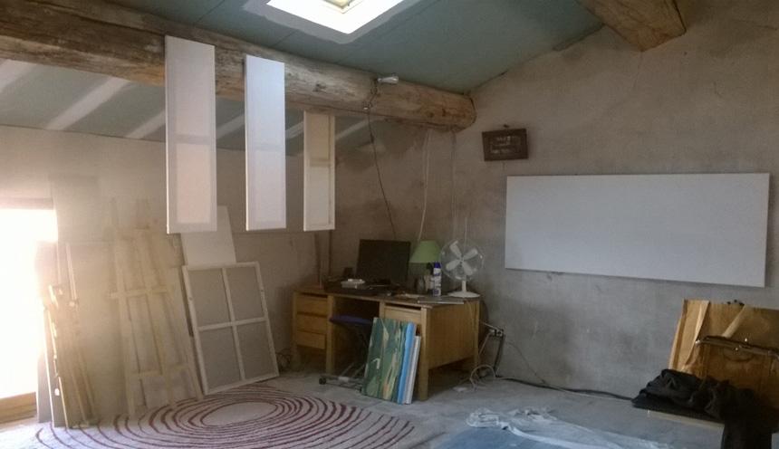 Preparing canvasses